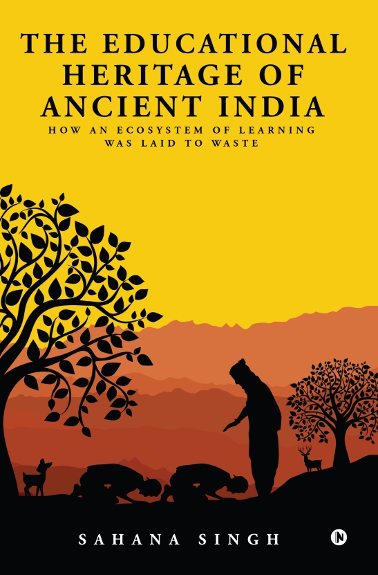 The Educational Heritage of Ancient India_Cover 1_rev 3.indd